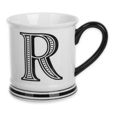 "Formations Block Letter ""R"" Monogram Mug"
