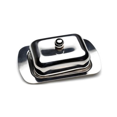 CooknCo Stainless Steel Butter Dish