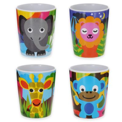 French Bull® Jungle Kids Juice Cups (Set of 4)