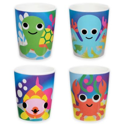 French Bull® Ocean Kids Juice Cups (Set of 4)