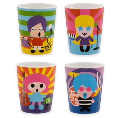 French Bull® Rock Star Kids Juice Cups (Set of 4)