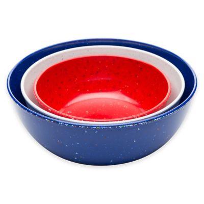 Zak! Designs® Confetti 3-Piece Serving Bowl Set in Multi
