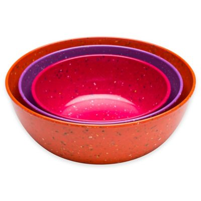 Confetti 3-Piece Serving Bowl Set