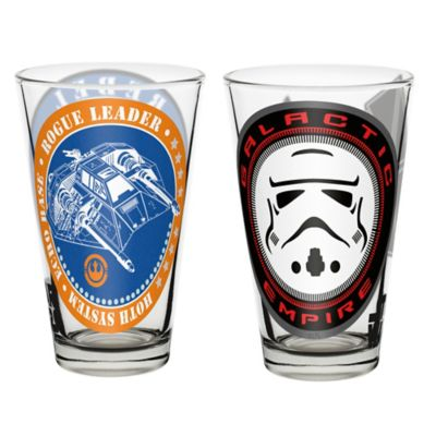 Zak! Designs® Star Wars™ Glass Tumblers (Set of 2)