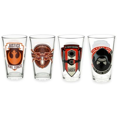 Zak! Designs® Star Wars™ Episode 7 Double Old Fashioned Tumblers (Set of 4)
