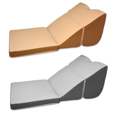 Gray Wedge Pillow