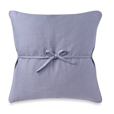 DKNYpure Pure Indulge Matelassé Square Throw Pillow in Blue