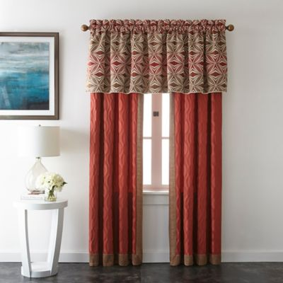 Ecliptic Window Valance in Gold
