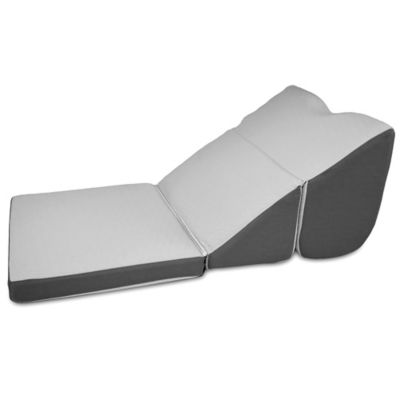 Contour MiniMax Multi-Position Bed Wedge Pillow in Gray