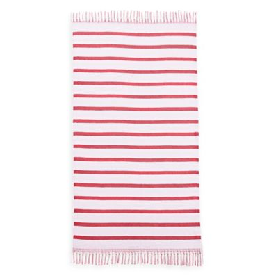 Kassatex Alanya Beach Towel in Aqua