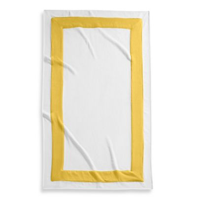 Kassatex Corsica Egyptian Cotton Beach Towel in Yellow