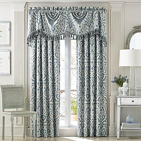 J Queen New York Lucerne Austrian Window Curtain Panel Collection Bed Bath Beyond