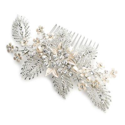 Silvertone Wedding Jewelry