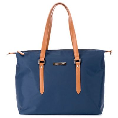 Perry Mackin Ashley Diaper Bag in Navy