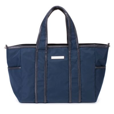 Perry Mackin Danielle Diaper Bag in Navy