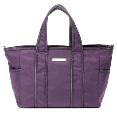 Perry Mackin Danielle Diaper Bag in Lilac