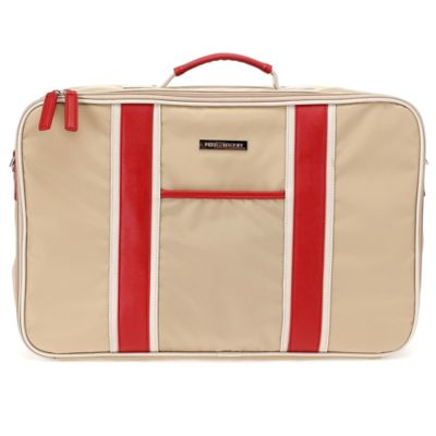 Perry Mackin Weekender Bag in Red