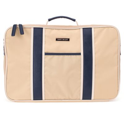 Perry Mackin Weekender Bag in Navy
