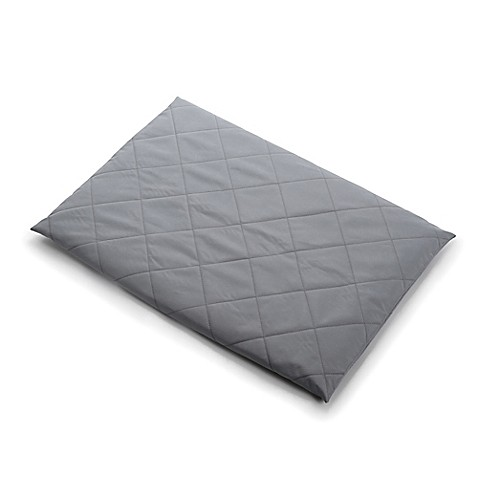 Travel Lite Quilted Crib Sheet In Grey Www Buybuybaby Com