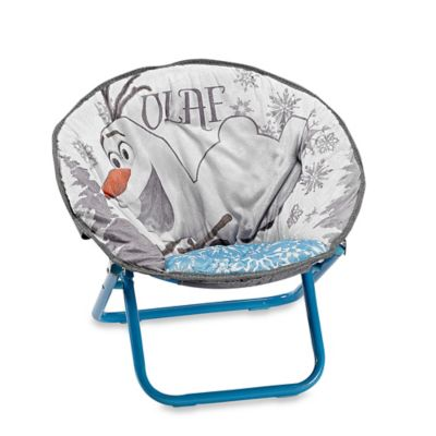 Disney® Frozen Saucer Chair in Blue