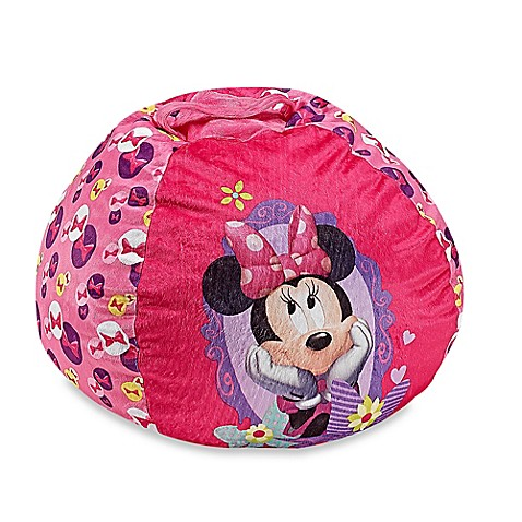 Buy Disney 174 Minnie Mouse Bean Bag Chair From Bed Bath