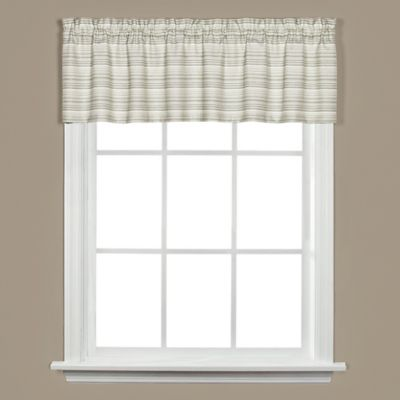 Green Cotton Valances