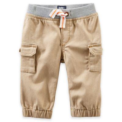 Size 12M Twill Pant in Khaki