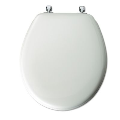 Chrome Wood Toilet Seats