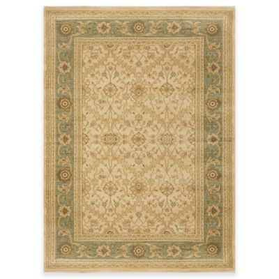 Antique Heat Set 7-Foot 8-Inch x 10-Foot 2- Inch Area Rug in Beige