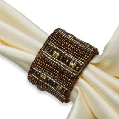 Taj Chocolate Napkin Ring
