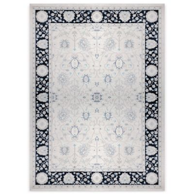 Antiqua 2 Heat Set 5-Foot 2-Inch x 7-Foot 2-Inch Area Rug in Ivory