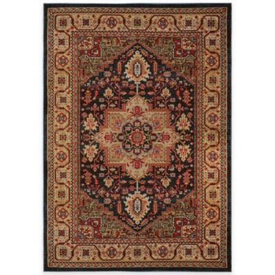 Antiqua 2 5-Foot 2-Inch x 7-Foot 2-Inch Area Rug in Brown