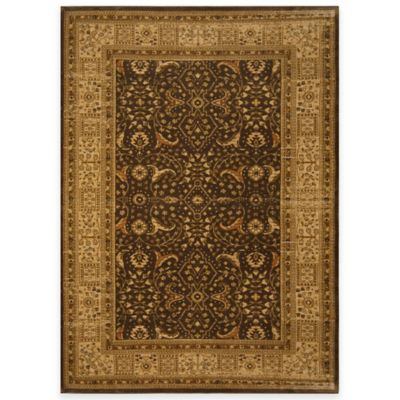 Antiqua 1 Square Board 7-Foot 8-Inch x 10-Foot 2-Inch Area Rug