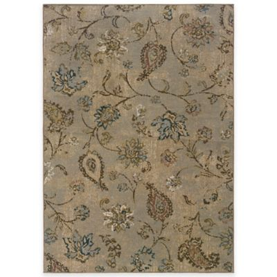 Oriental Weavers Chloe 1-Foot 10-Inch x 7-Foot 6-Inch Runner in Blue