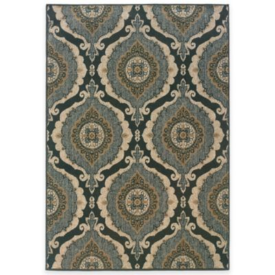 Oriental Weavers Chloe 5-Foot 3-Inch x 7-Foot 6-Inch Area Rug in Blue