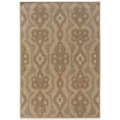 Oriental Weavers Chloe 5-Foot 3-Inch x 7-Foot 6-Inch Area Rug in Copper/Blue