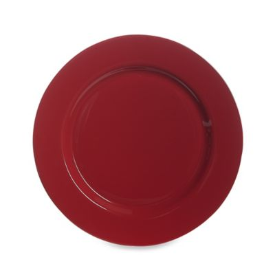 Dinner Plate in Red