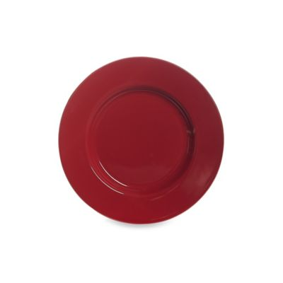 Real Simple® Salad Plate in Red