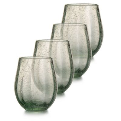 Style Setter Riley Stemless Glasses (Set of 4)