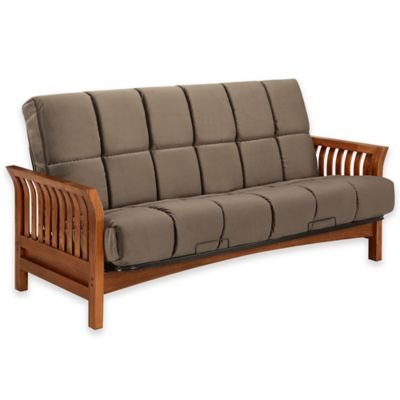 Simmons® Boston Futon Frame in Vintage Oak