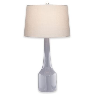 Pacific Coast® Lighting Marina Collection Dorsal Table Lamp in Grey