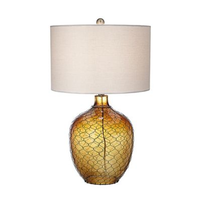 Pacific Coast® Lighting Sagittarius Table Lamp in Amber