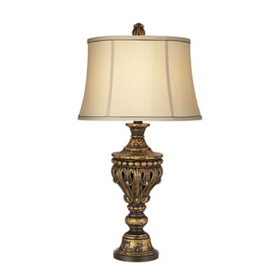 Kathy Ireland Lumiere Collection Table Lamp in Gold/Black