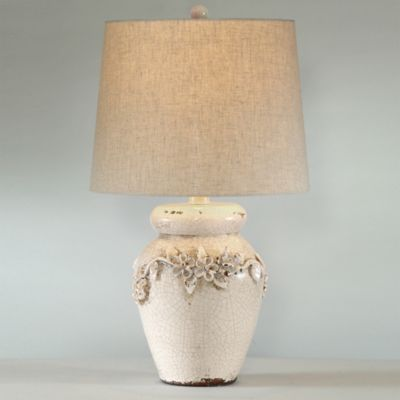 Ivory with Fabric Shade