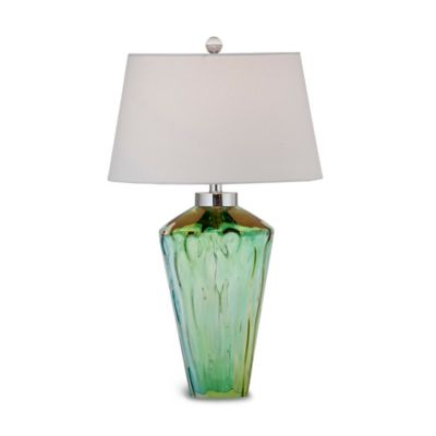 Bassett Mirror Company Huntley Table Lamp in Green