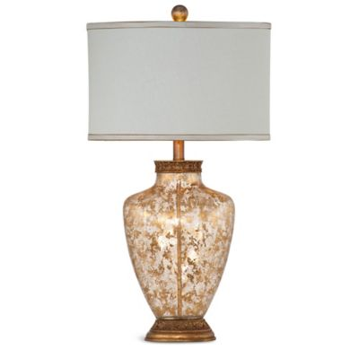 Bassett Mirror Company Marlborough Table Lamp in Gold