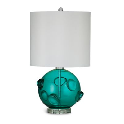 Bassett Mirror Company Cabo Table Lamp in Turquoise