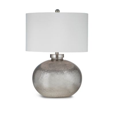 Bassett Mirror Company Gardena Table Lamp in Silver