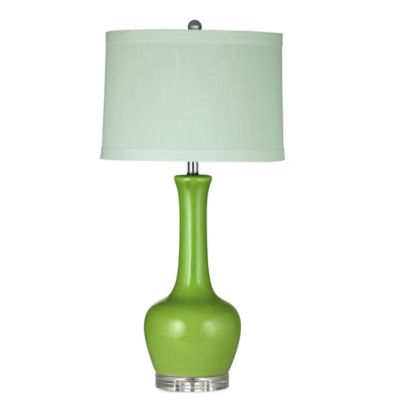 Bassett Mirror Company Killeen Table Lamp in Green