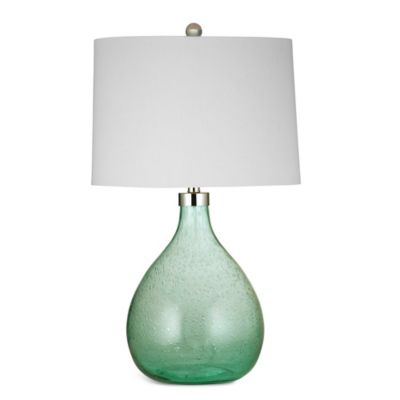 Bassett Mirror Company Pierson Table Lamp in Green